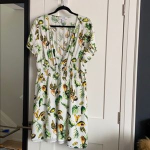 Forever 21 Avocado Dress Plus Size